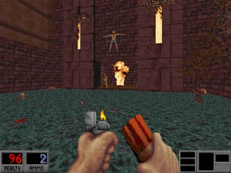 full dos games free download blood one unit whole blood full with cd audio tracks