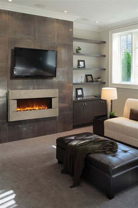 amantii artisan built in wall mounted electric fireplace