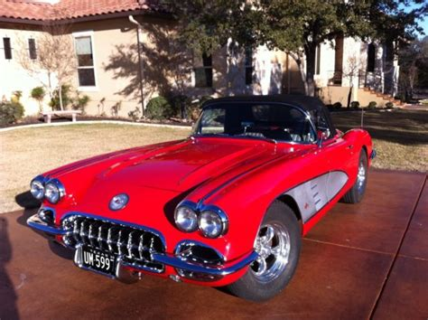 auto air conditioning repair 1960 chevrolet corvette seat position control 1960 corvette complete frame off restoration convertible with hard soft top classic