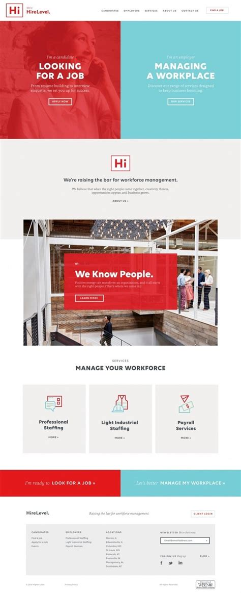 web design layout jobs 25 best ideas about corporate website on pinterest