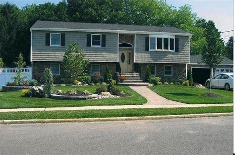landscape design split level exterior remodel pinterest