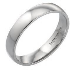 wedding ring white gold 9ct white gold 4mm wedding ring h samuel