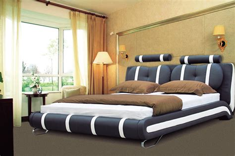 double king size bed luxury designer bed king size 101 black red furniture appliance centre birmingham
