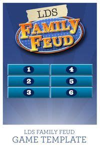 family fued template use this lds family feud template with 38 questions