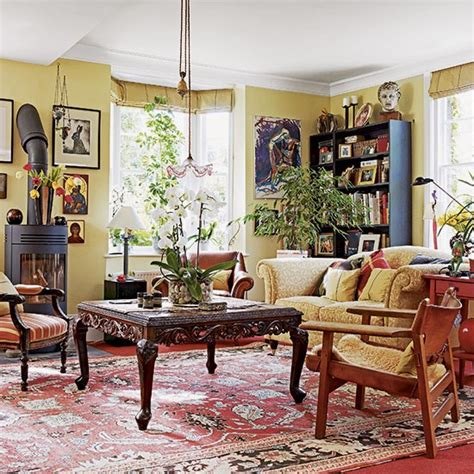 traditional home living rooms traditional yellow living room decorating housetohome