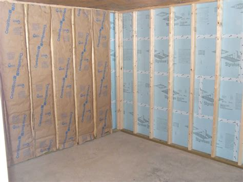 exterior basement insulation best methods for insulating basement walls
