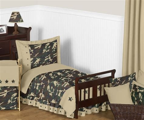 camo toddler bedding green camouflage toddler bedding 5pc set by sweet jojo