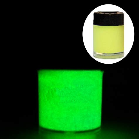 glow in the powder into paint 10ml diy paint luminous pigment glow powder graffiti
