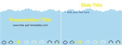 powerpoint themes weather free powerpoint templates free powerpoint templates