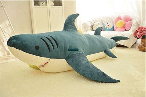 giant stuffed shark sleeping bag 2017 dorimytrader 79 200cm shark sleeping bag giant