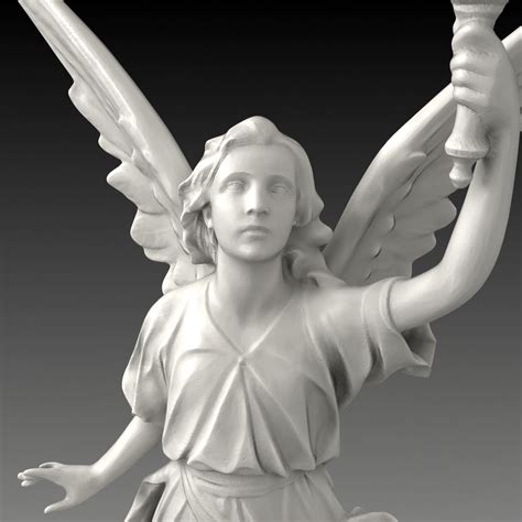 free download cgtrader models a christian statue free 3d model max obj fbx cgtrader