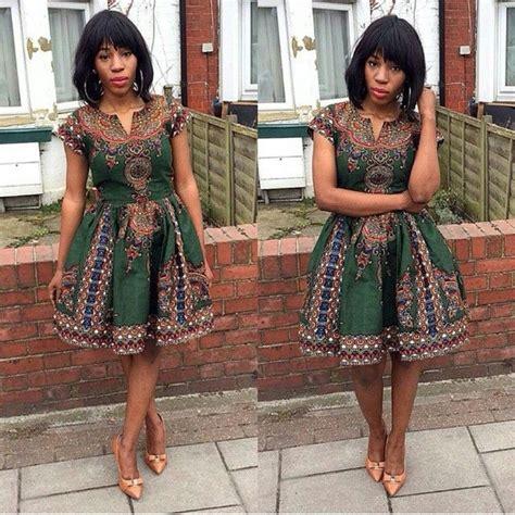 https www stylish simple ankara short gown http www dezangozone com 2015