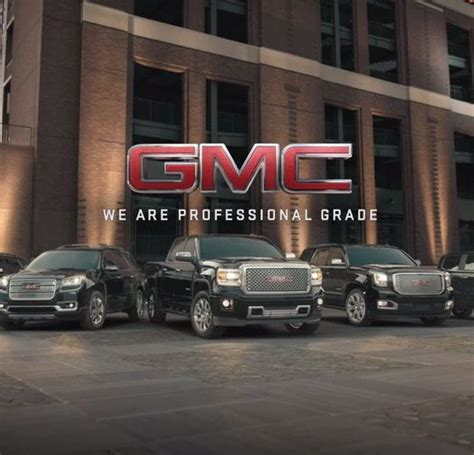 gmc we are professional grade ballpark in gmc ad autos post