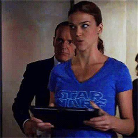 Adrianne Embro Shirt B L F marvel s agents of shield italia morse wars t