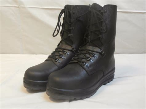 Swiss Army Dhc5020 Black Brown Leather Original 1 swiss army para boots new black leather combat assault