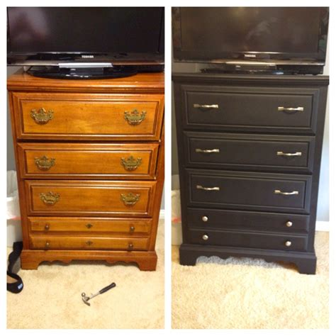Painting A Dresser Black by Best 25 Dresser Redo Ideas On Used