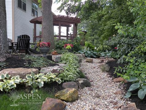 Creek Rock Patio by 75 Best Images About Creek Bed Landscaping On