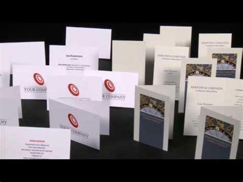 Visitenkarten Youtube by Visitenkarten Druckerei Laserline Youtube