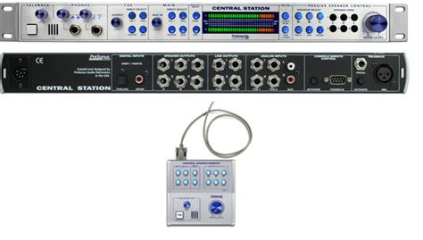 Presonus Central Station 1 presonus central station use 2 monitors simultaneously gearslutz pro audio community