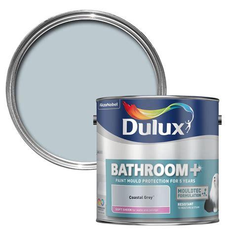 bathroom colours dulux dulux bathroom coastal grey soft sheen wall ceiling paint 2 5l