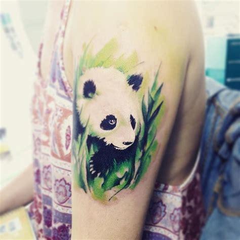 panda tattoo shanghai pandab imagen de acuarela de internet modificada panda