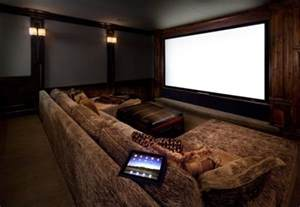 Luxurious Home Designs - 35 modern media room designs that will blow you away