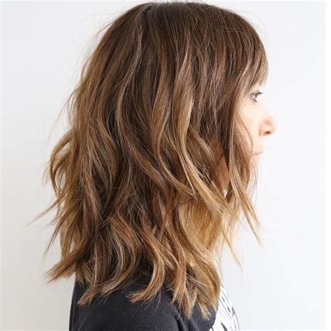going out hairstyles with fringe if you want to look good in no time get a lob check out