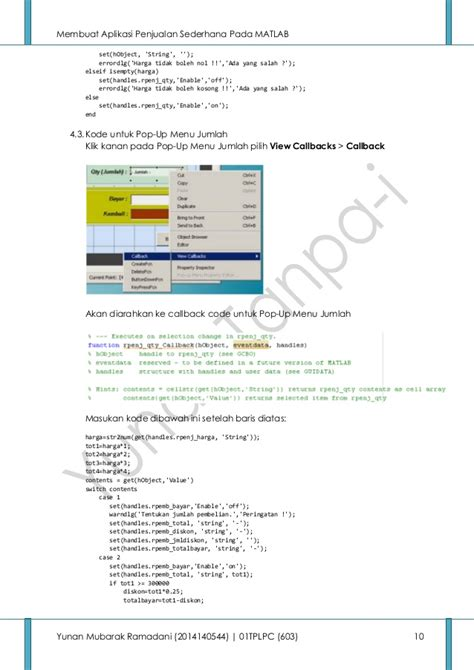 membuat aplikasi android penjualan membuat aplikasi penjualan sederhana pada matlab