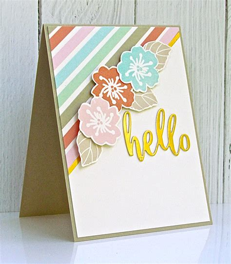 card challenges pretty periwinkle fusion card challenge hello cards