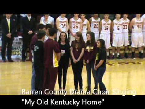 barren county high school drama choir sings quot my