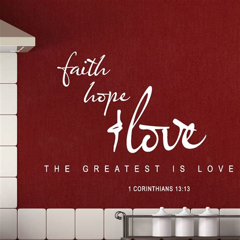 Faith Quotes Wall