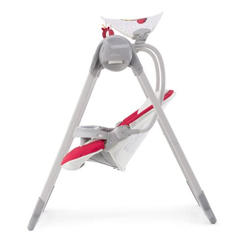 polly swing up balancelle b 233 b 233 polly swing up paprika de chicco sur allob 233 b 233