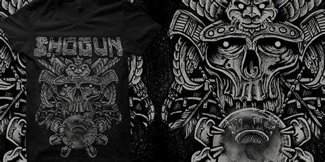New T Shirt Pria The Samurai Android Terlaris shogun t shirt design by omaszdesign mintees