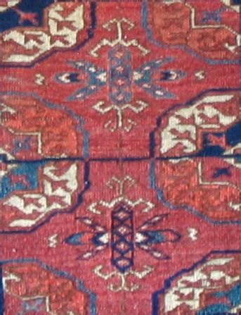 Tekke Rug Antique Turkmen Rugs And Bags From Dewitt Mallary