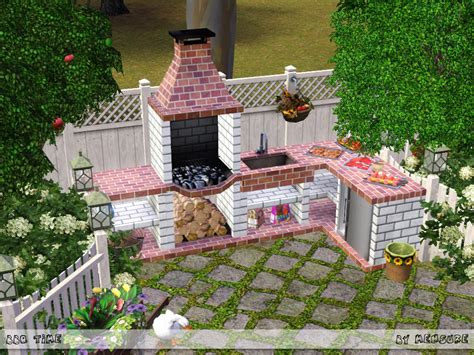 bbq time outdoor kitchen