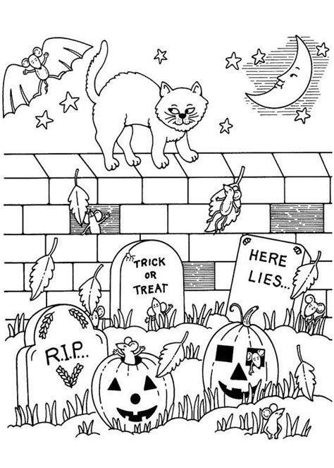 halloween coloring pages difficult 199 best halloween to color images on pinterest coloring