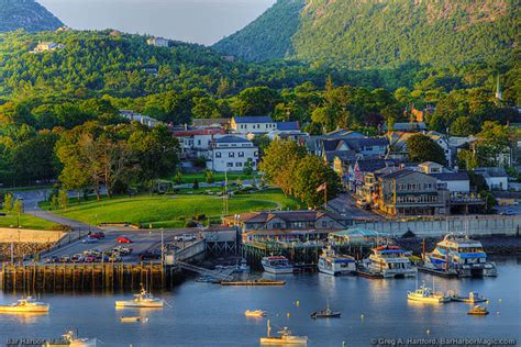 Harbor Bar by Bar Harbor Maine Villages In Region
