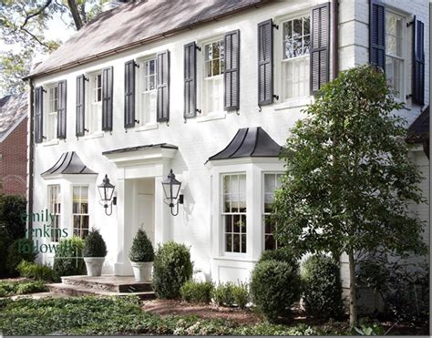 white colonial homes black shutters design ideas