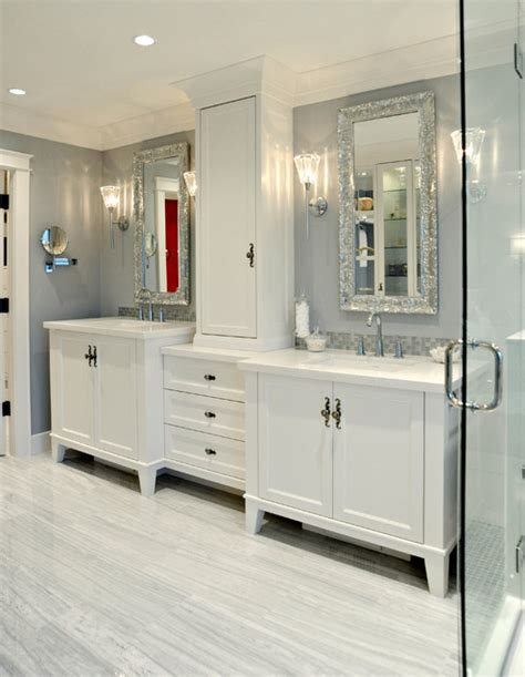 Bathroom Mirrors Vancouver White Rock Traditional Bathroom Vancouver By Enviable Designs Inc