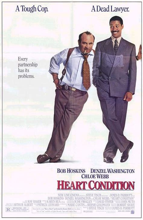 heart condition 1990 heart condition movie poster imp awards