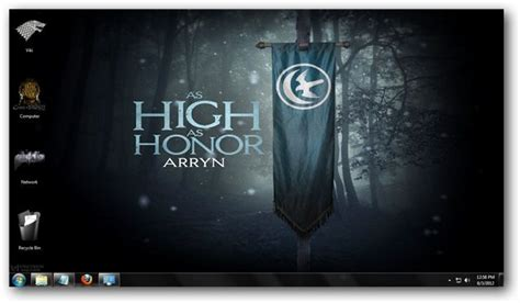 themes games of thrones game of thrones theme for windows 7