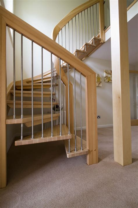 Banister Design by Artwork Staircase Design With Banister Rail Using Wooden