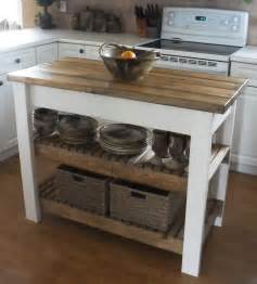 How To Make An Kitchen Island White Kitchen Island Diy Projects