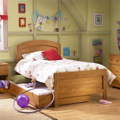 childrens pine bedroom furniture south shore prairie kids antique pine twin wood panel bed