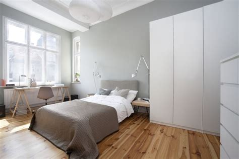 in bedroom tiny apartment in poznan poland showcases cool