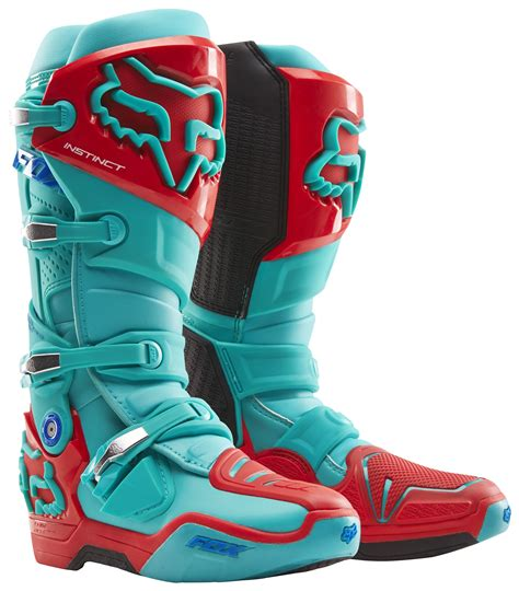 fox motocross shoes fox racing instinct union le boots revzilla