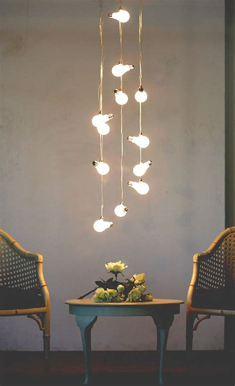 Hanging Dining Room Light bulbes luminaire and lampes on pinterest