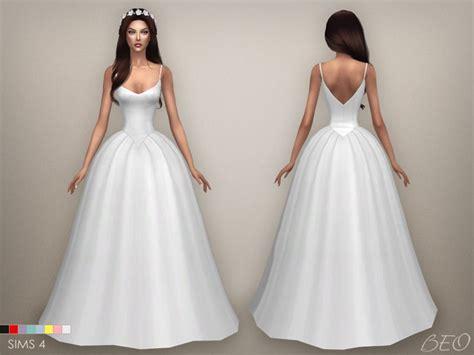 Dress Big Salur Cc cc finds beocreations wedding dress s4 sims 4 cc finds sims