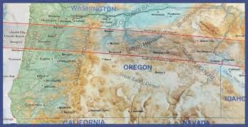 map of oregon totality 2017 eclipse information for oregon