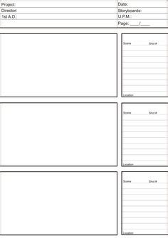 anime storyboard template 1000 images about storyboard on types of